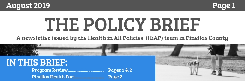 August Policy Brief