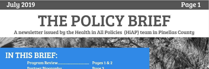 July Policy Brief
