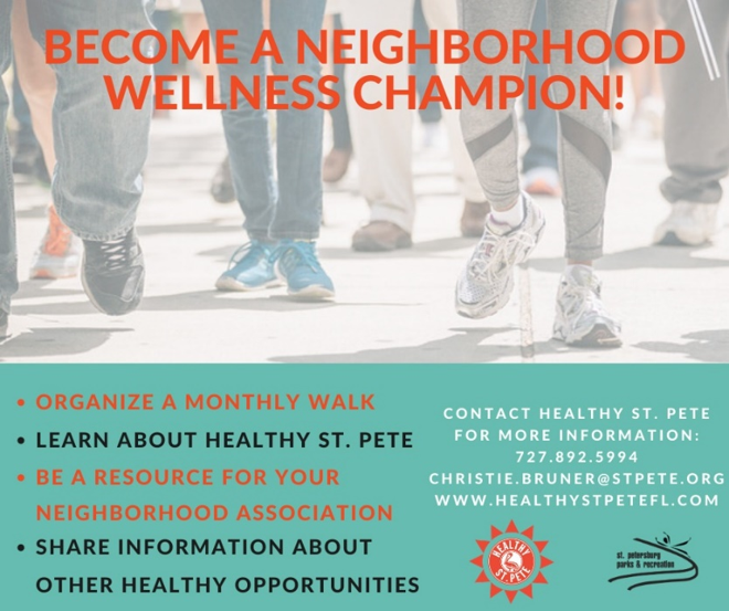 Become a neighborhood wellness champion!