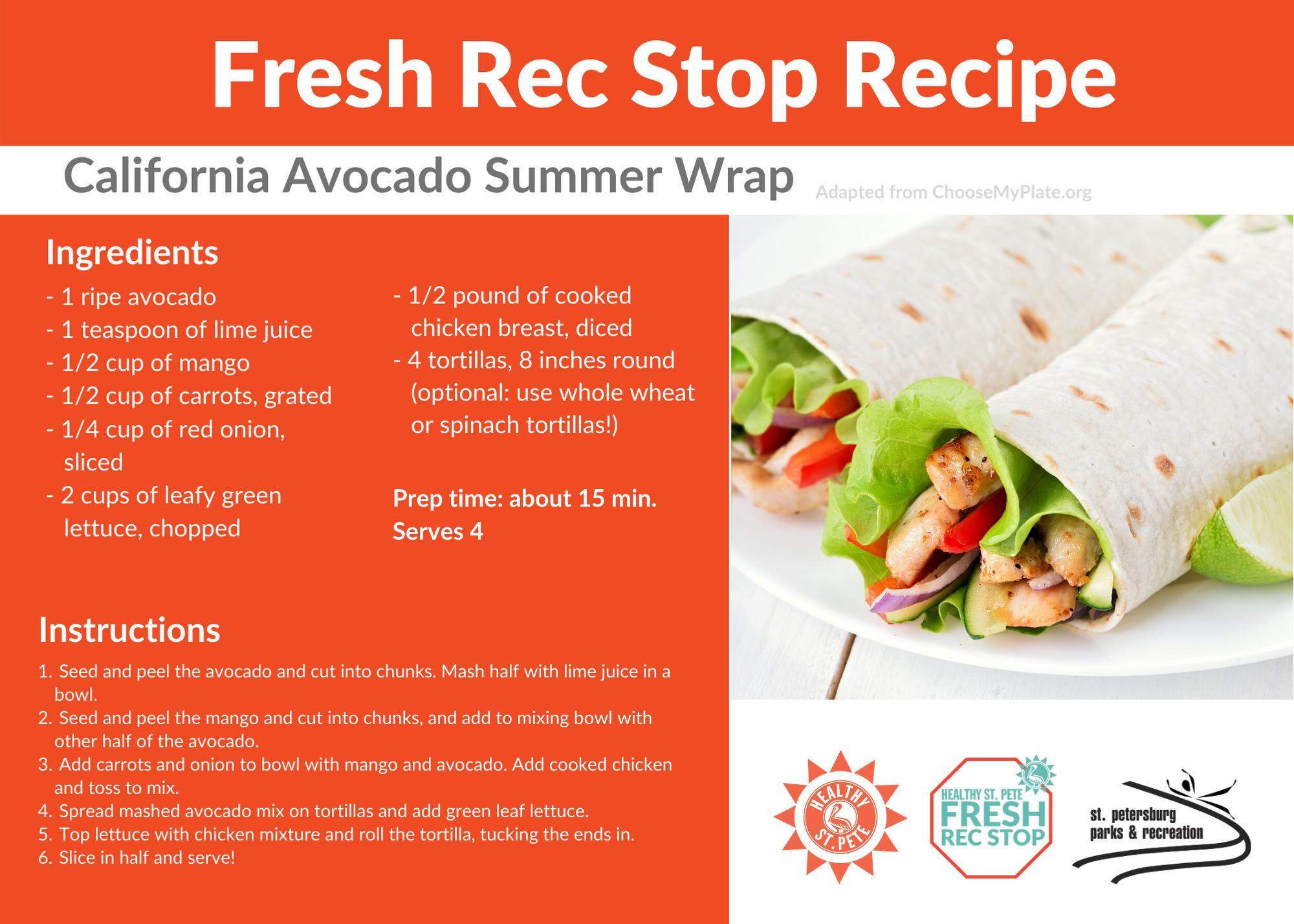Avocado Summer Wrap recipe