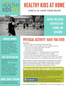 healthy kids week two