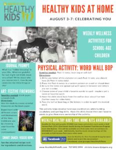 healthy kids week 10