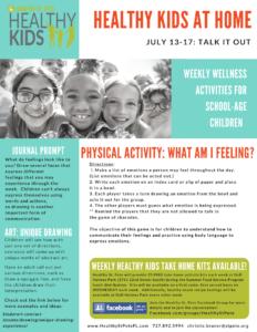 healthy kids week seven