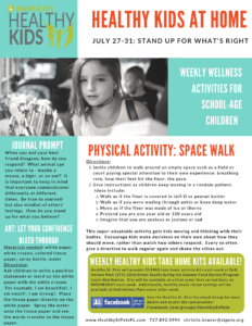 healthy kids week nine
