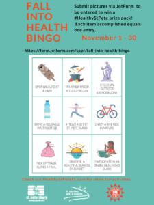 fall into health bingo