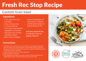 grain salad recipe